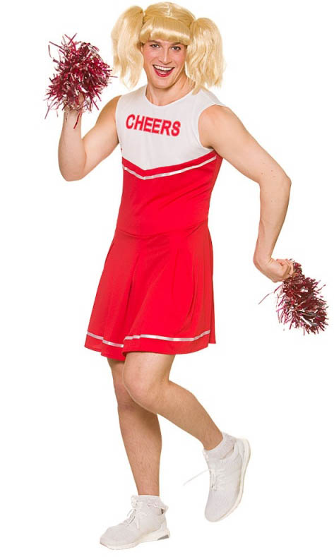 Wife In Cheerleader Outfit