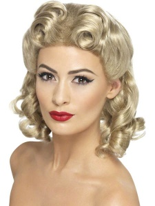 SM26230 Ladies 40s Sweetheart Wig