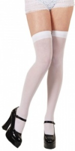 WICK7039 Thigh High White