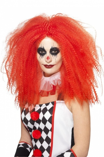 44741 Red Clown Wig