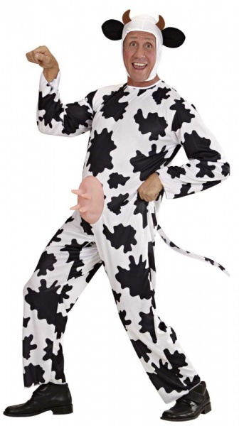 SANC3124M Mens Funny Cow Stag Costume