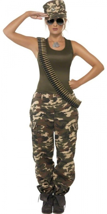 SM35457S Womens Army Costume