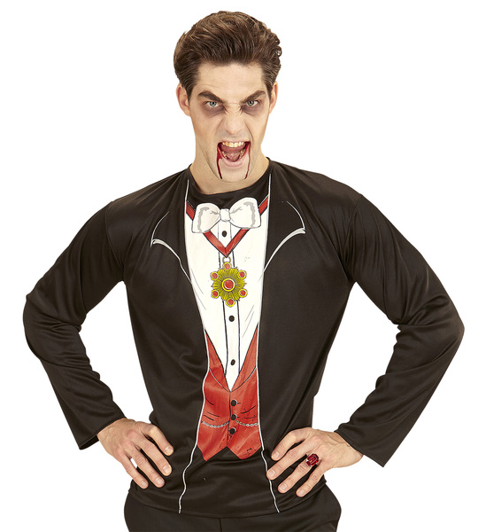 c337c653984 SANC0741 Mens Vampire Halloween Shirt Costume