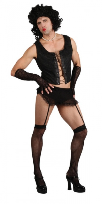 WICK3176 Mens Funny Rock Guy Stag Costume