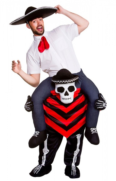 WICK8740 Mens Carry Me Day of The Dead Halloween Costume