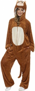 SM31677 Monkey Costume, Brown