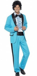 SM43194 Mens 80s Prom King Costume