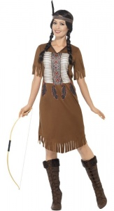 SM45976 Native American Inspired Warrior Costume