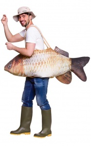 WICK8636 Men's Fish Costume