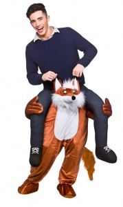 WICK8701 Mens Carry Me Fox Stag Costume